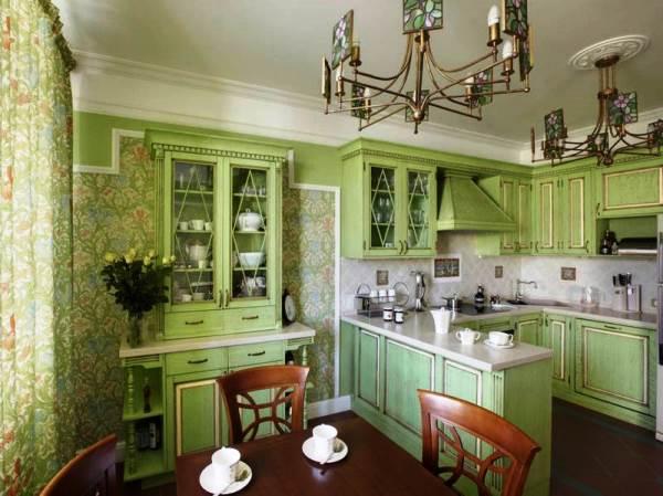 обои для маленькой кухни 2015 фото 5
