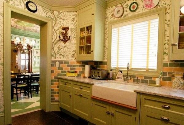 обои для маленькой кухни фото 6