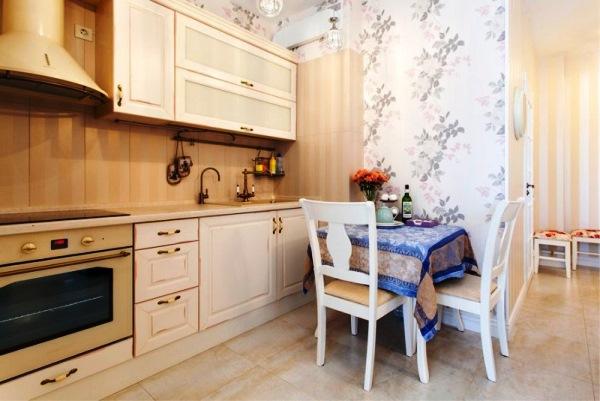 обои для маленькой кухни фото 9