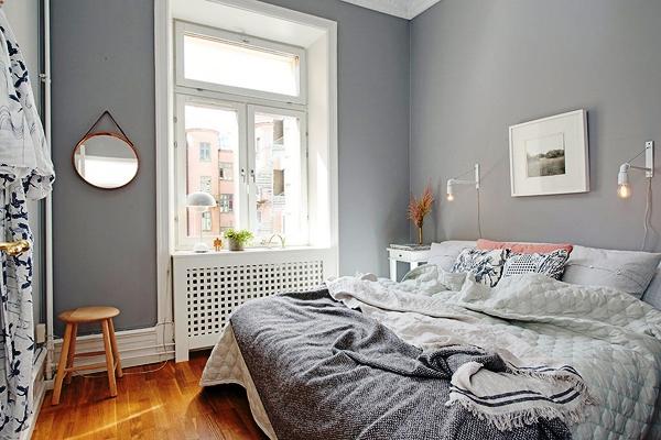 обои в маленькой спальне фото 7