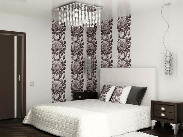 фото обоев для спальни в квартире