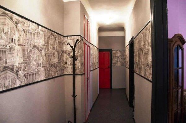 обои для небольшой прихожей и коридора фото 6