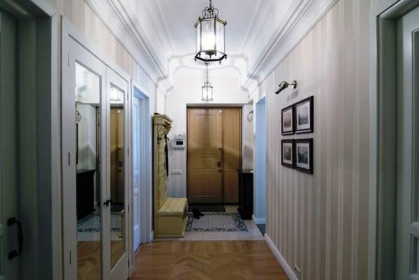 обои в узкий коридор фото