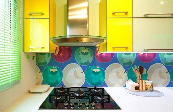 подбор обоев для кухни фото 8