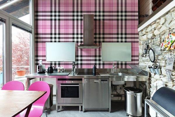 Подбор обоев для кухни фото