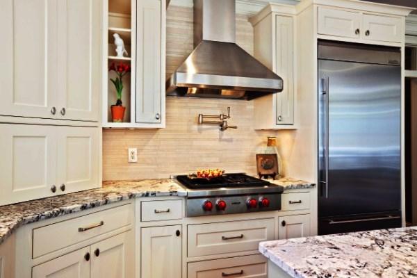 каминные вытяжки для кухни 50 см фото
