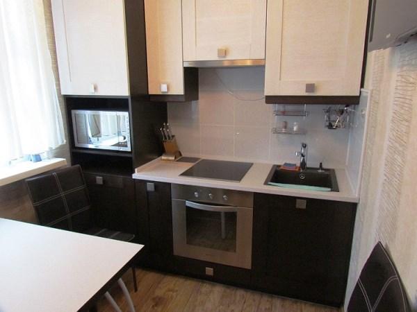 кухни со встраиваемыми вытяжками фото