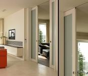 Фото сдвижных межкомнатных дверей 2