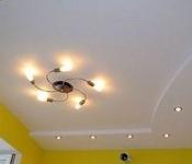 Покраска потолка водоэмульсионной краской: фото