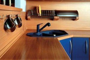 Столешницы из ЛДСП для кухни: богатый выбор цветов и фактур