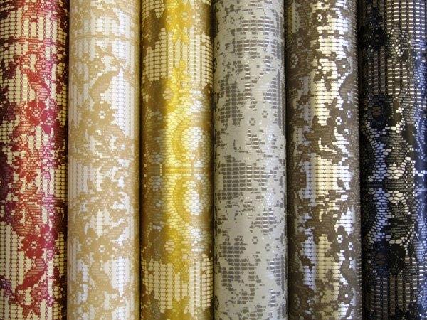 Как клеить бесшовные текстильные обои