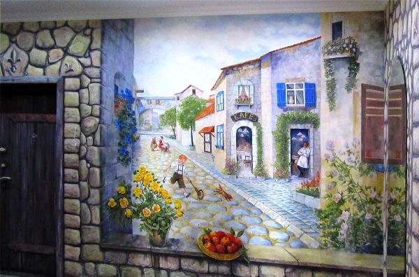 Идеи Фотообоев на стену с сюжетами Европейских городов