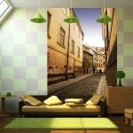 фотообои улочки и дворики