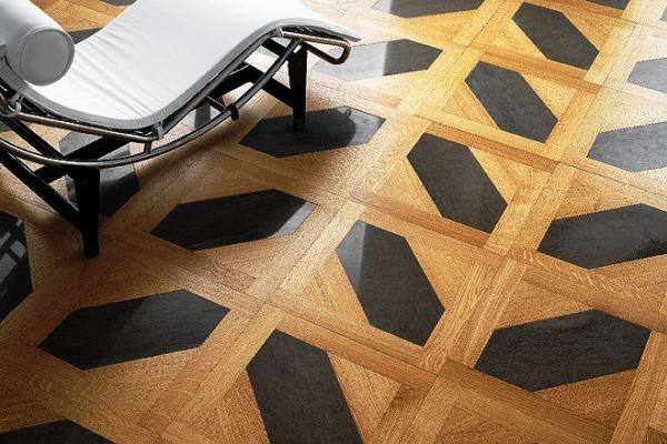 мозаичный деревянный пол