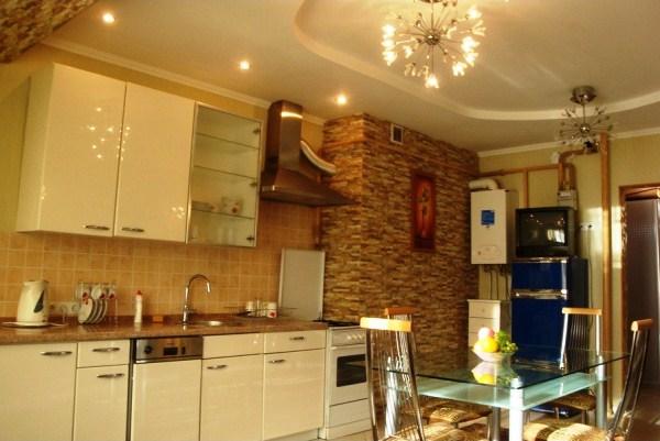 современная кухня после ремонта