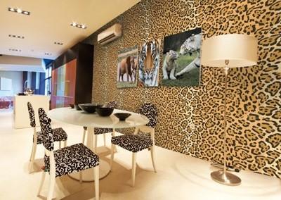 леопардовые обои