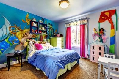 детские обои 3д на стену фото
